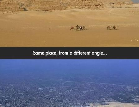 The Same Place, From A Different Angle….The Difference Is Astonishing