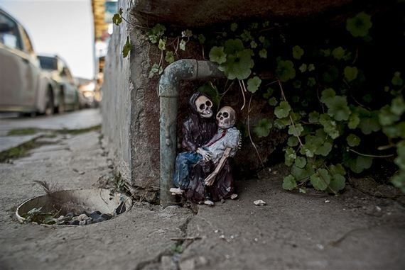 These Tiny Skeletons On Streets Of Mexico Are Amazing. But What Do They Mean?