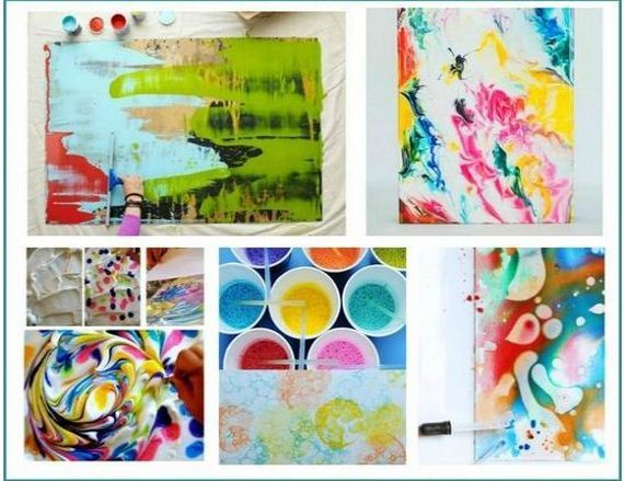 How to Make Abstract Art projects