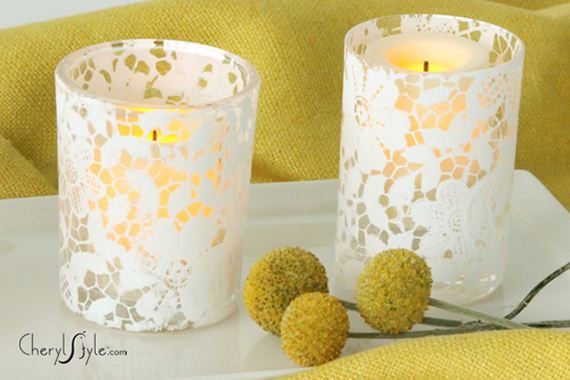 Fantastic Ways to Personalize Your Candle Glass Holders