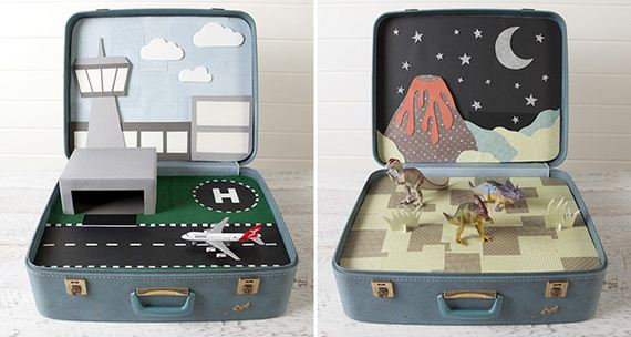 How To Recycle Those Vintage Suitcases