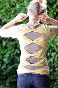 22T-Shirt Refashion-Tutorials