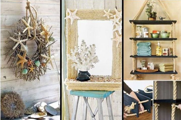 Awesome Breezy Beach Inspired DIY Home Decorating Ideas