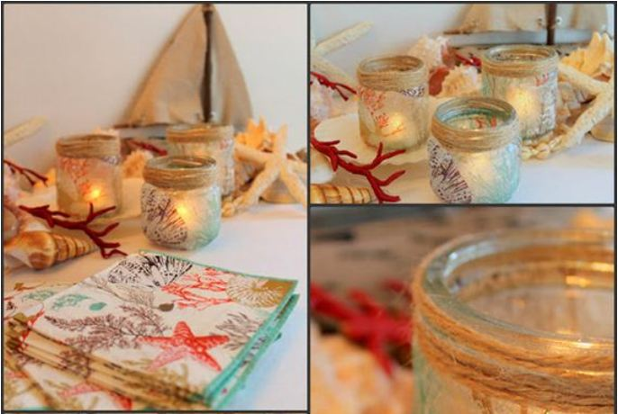 Awesome DIY Ways to Make Candle Glass Holders