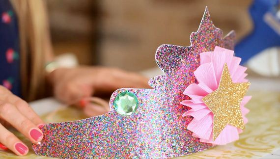 Amazing Princess Crowns DIYs for You and Your Little Crafter