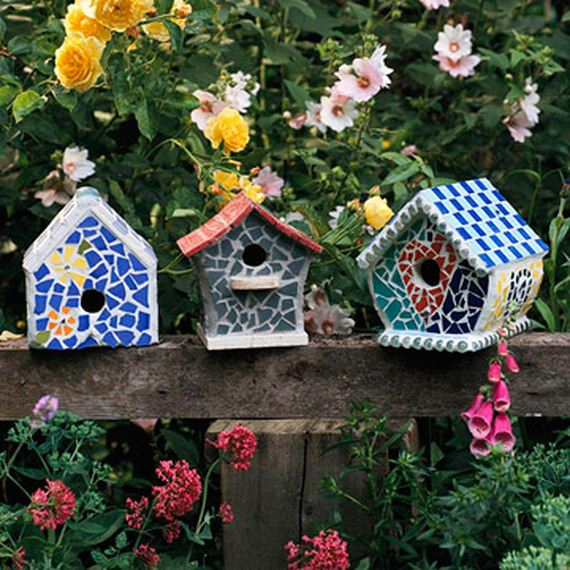 Great Ideas to Make Birdhouses