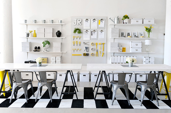 Different Ways To Decorate With Pegboards