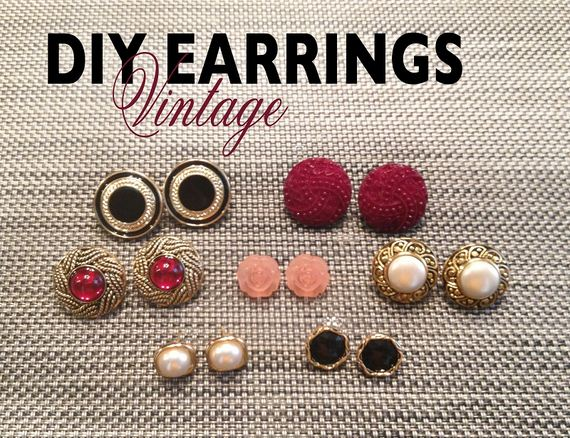 Awesome Pairs of Earrings You Can Make Yourself!