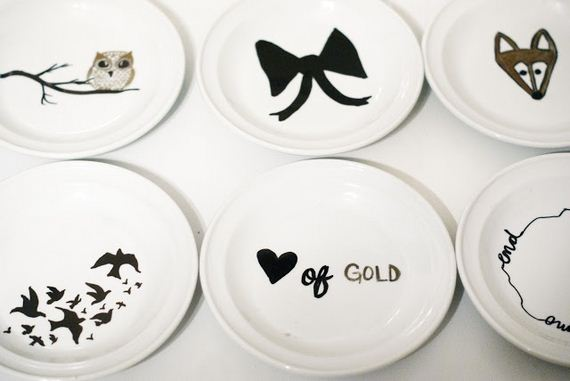 Amazing Artistic Baked Sharpie DIY Dish Designs