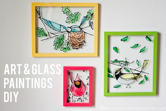 Awesome Glass Painting Projects (DIY Glass Paint)
