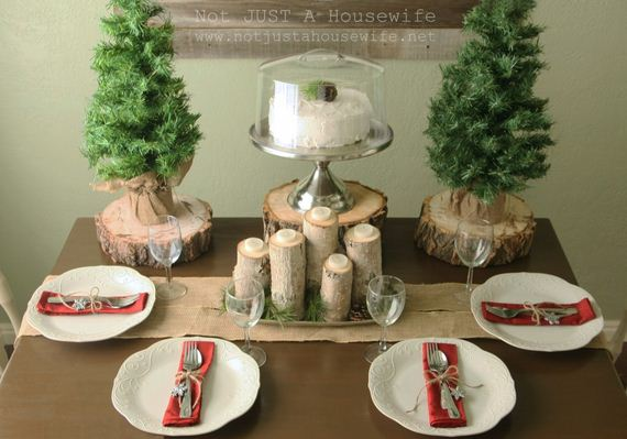 Awesome DIY Christmas Tablescapes