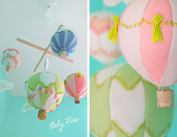 diy baby mobiles. Black Bedroom Furniture Sets. Home Design Ideas