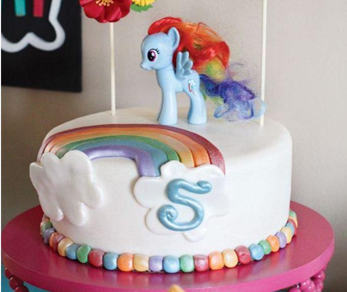 Great DIY Birthday Cakes For Little Girls