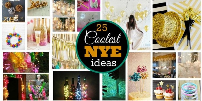 Cool DIY New Year Eve Projects