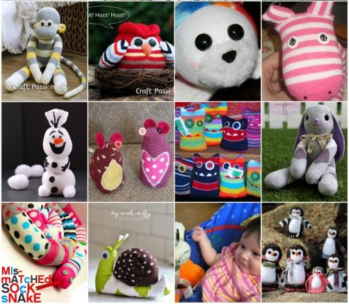 Adorable DIY Sock Toys
