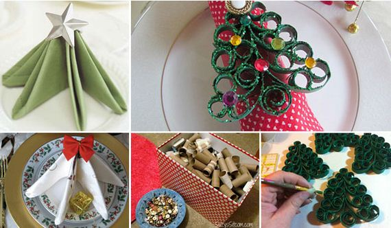 Awesome Napkin Ideas For Your Christmas Dining Table