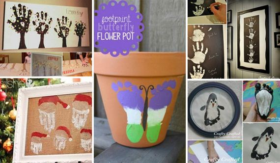 Funny Footprint Art Ideas