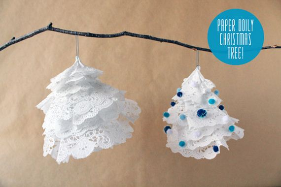 Cool Winter Decorations With Paper Doilies