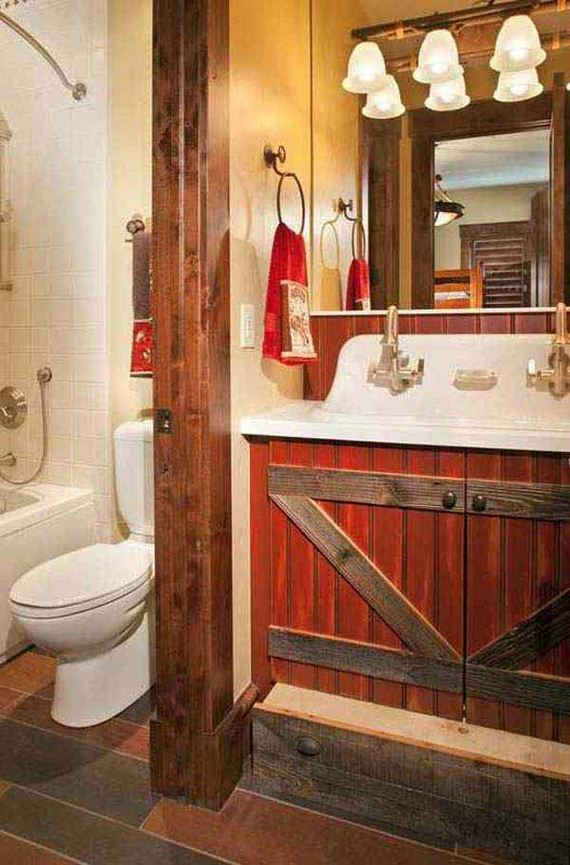 Awesome Rustic Bathroom Ideas