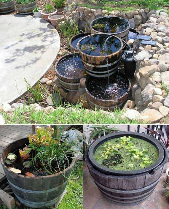 Awesome DIY Ways of Reusing Old Wine Barrels