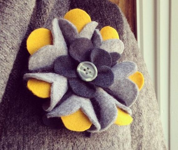 Awesome Felt Brooch Tutorials