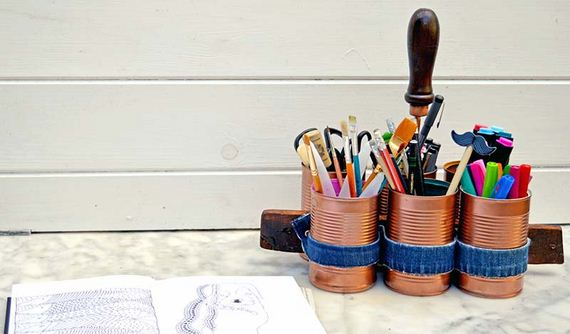Fantastic DIY Craft Room Caddies
