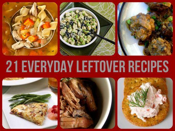 Delicious Leftover Recipes