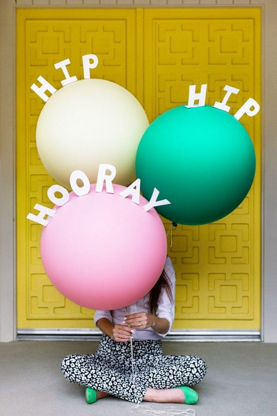 diy balloon project ideas