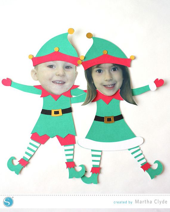 Unforgettable image with elf pattern printable