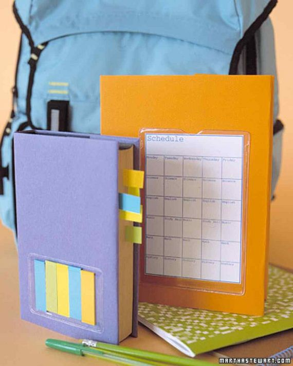 Diy Plastic Book Cover : Cool diy back to school projects