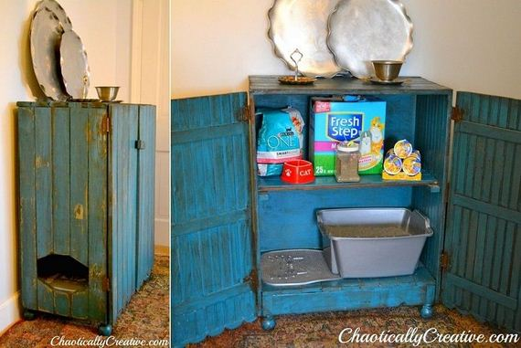 Awesome Diy Solutions To Hide Your Pet S Litter Box