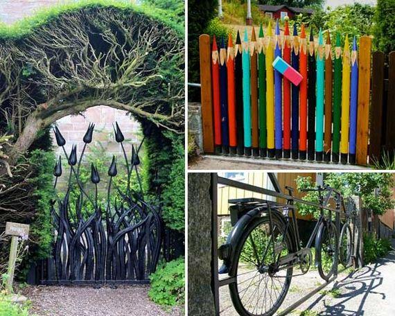 Amazing Garden Gate Ideas To Reflect Style