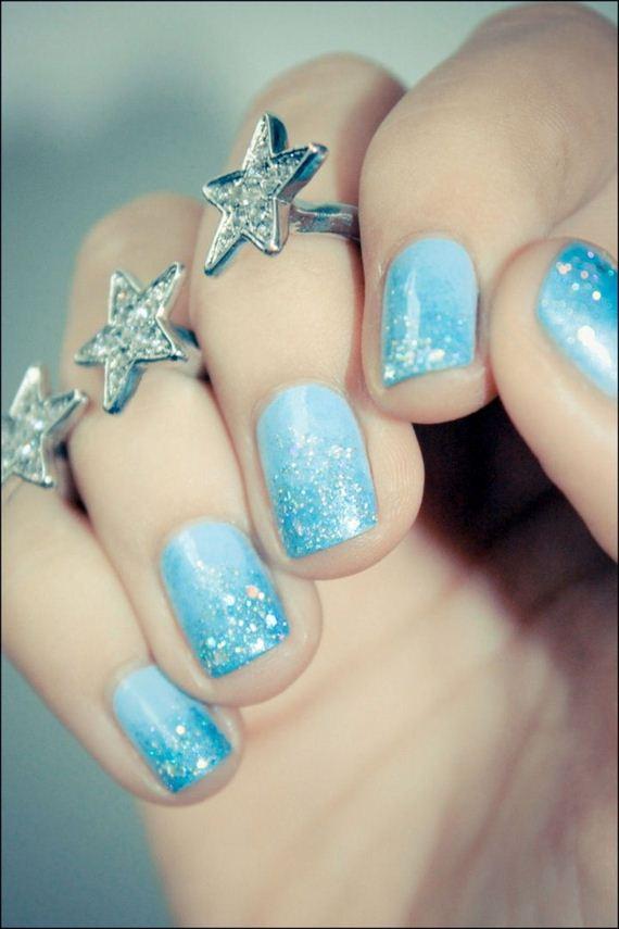 Creative Winter Inspired Nail Designs