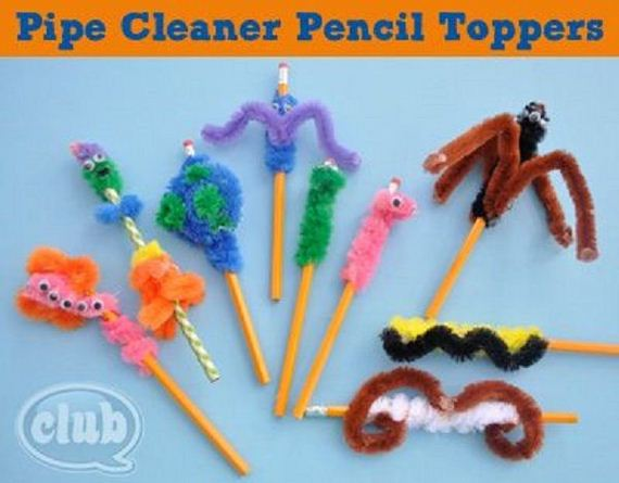 Arts And Crafts Activities With Pipe Cleaners