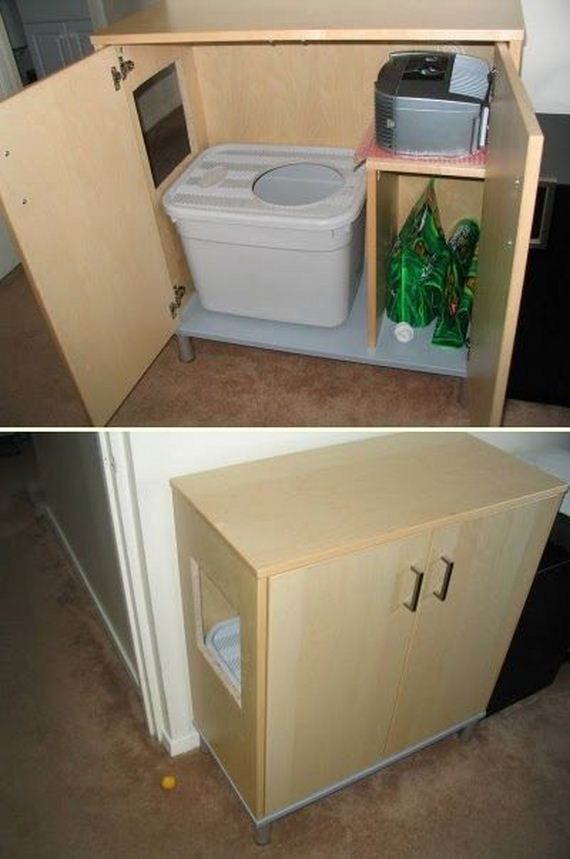 8 Litter Box Cabinet Nice Look