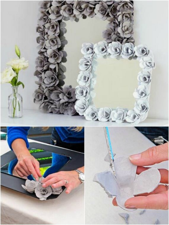 Creative Projects Made With Recycled Egg Cartons