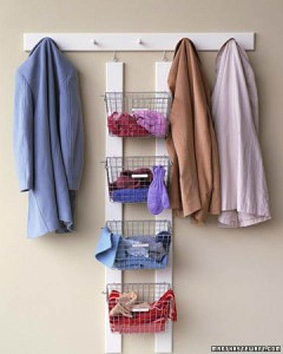 Baby Sliding Door Closet Organization