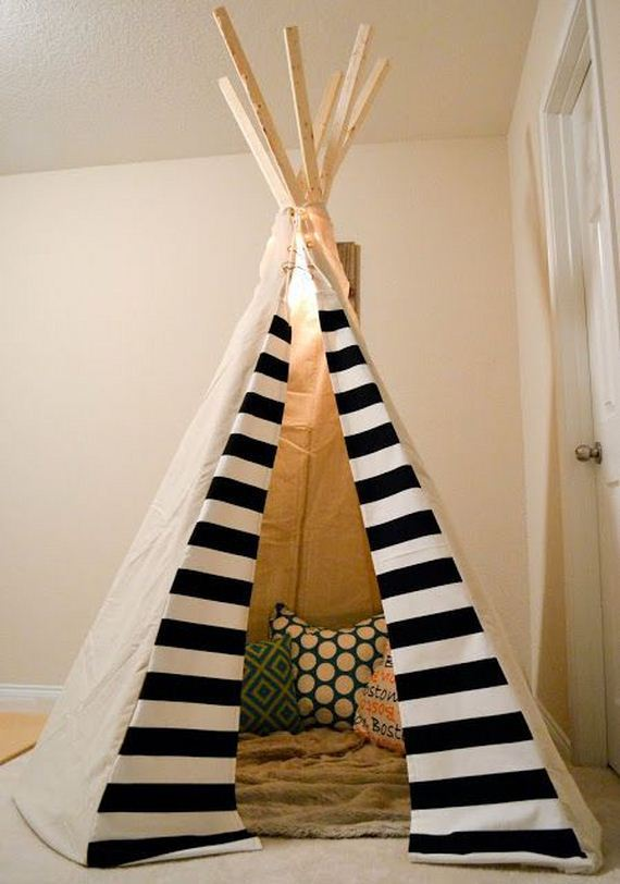 13-DIY-Amazing-Teepee-Tutorial-For-Kids