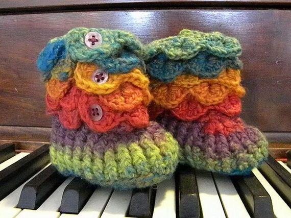 13-diy-free-crochet-baby-booties