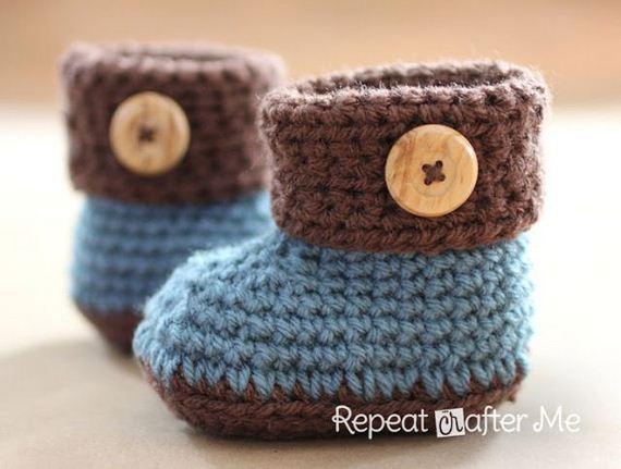 14-diy-free-crochet-baby-booties