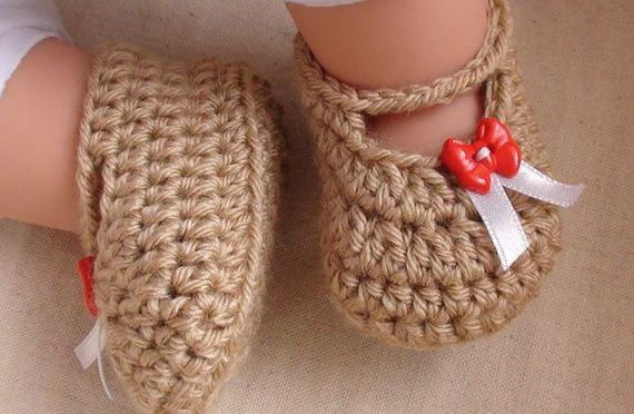 16-diy-free-crochet-baby-booties