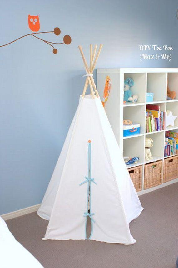 17-DIY-Amazing-Teepee-Tutorial-For-Kids