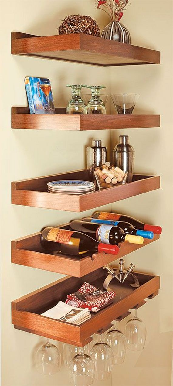 Groovy Diy Floating Shelves Home Interior And Landscaping Fragforummapetitesourisinfo