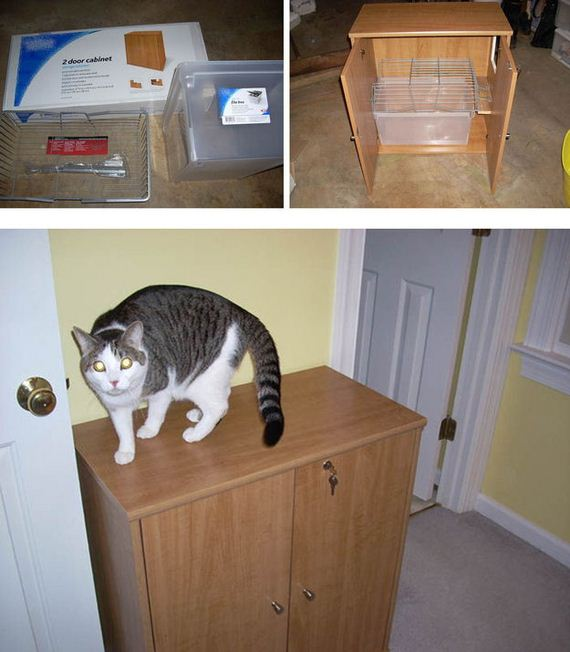 18 Diy Litter Box Hack Ideas