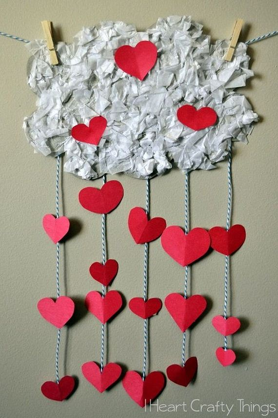 valentines craft ideas for children easy s day diy craft ideas 7300