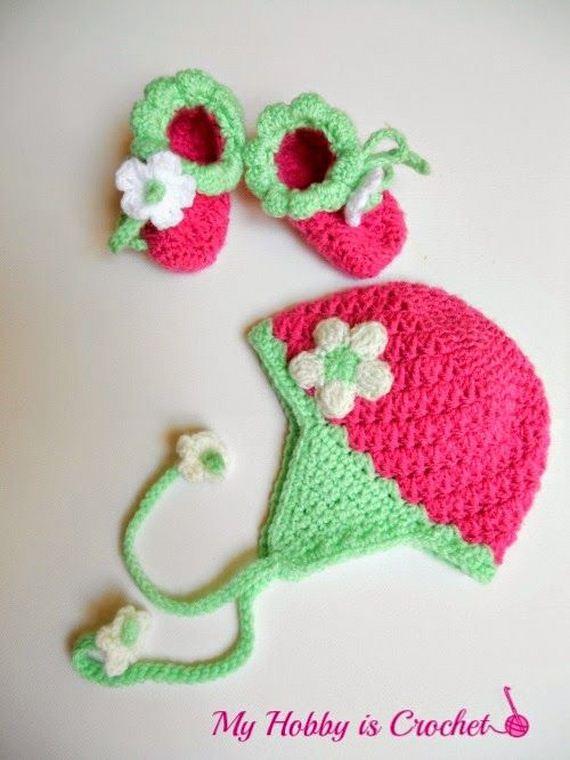 Cute Crochet Baby Booties Ideas