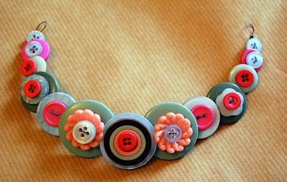 DIY Buttons Craft Ideas