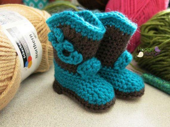 32-diy-free-crochet-baby-booties