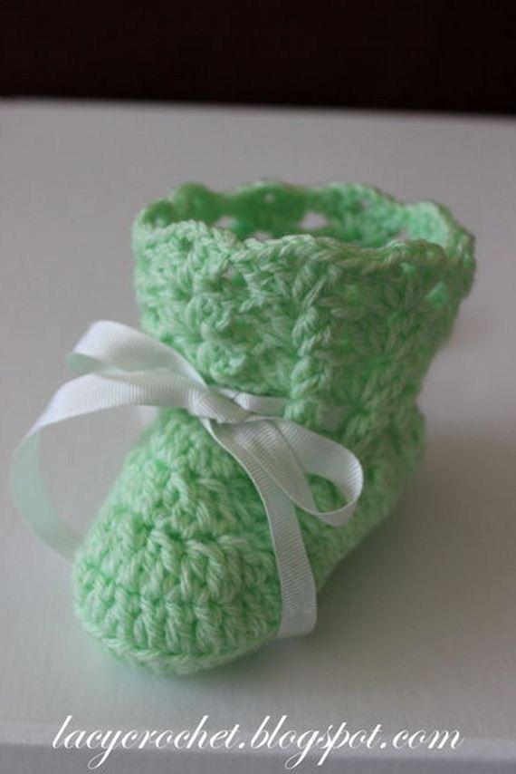 33-diy-free-crochet-baby-booties