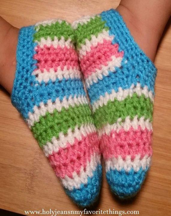 35-diy-free-crochet-baby-booties